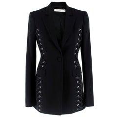 Altuzarra Merrie black laced jacket UK8