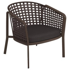 Alu-Square Twist Rope EMU Carousel Lounge Chair