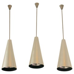 Alumag Belmag Three Cone Shape Pendant Lamps