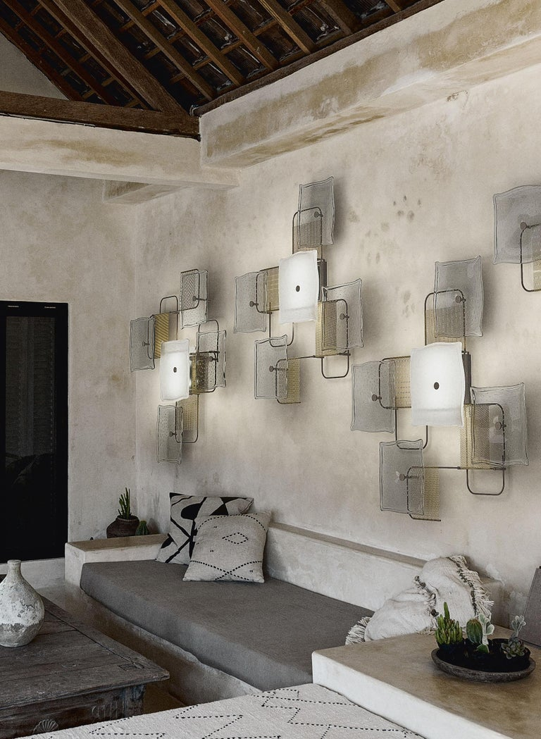 Alumina 7284 Wall Sconce in Glass, by Alessandro Piva from Barovier&Toso For Sale 6