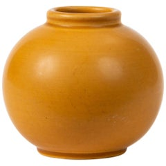 Aluminia Faience Bud Vase