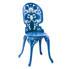 Aluminium Chair 'Industry Collection, by Seletti, Sky Blue