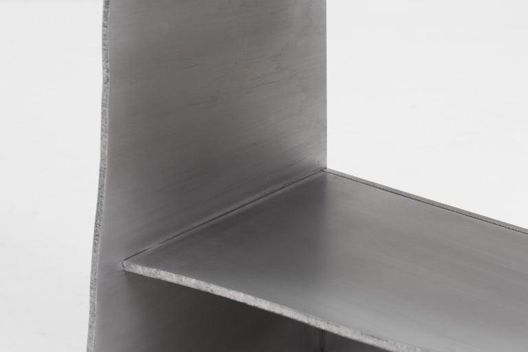 Aluminum Rational Jigsaw Shelf by Studio Julien Manaira For Sale 4