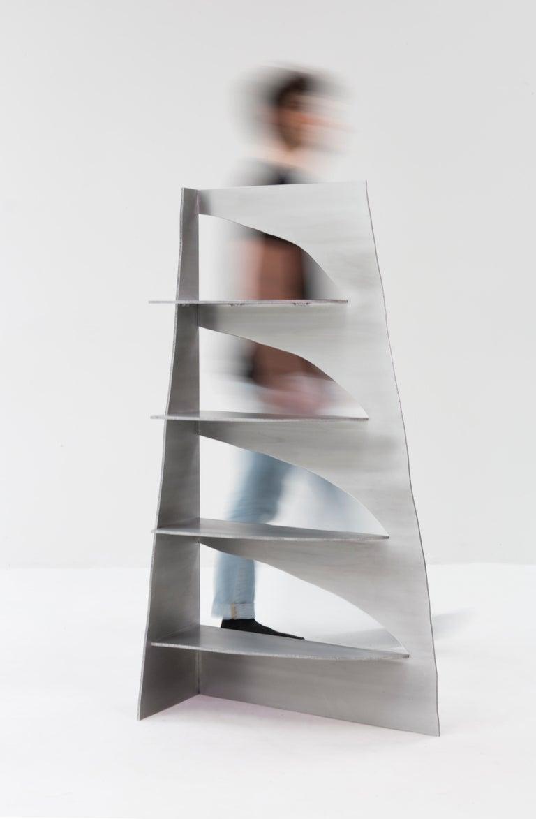 Contemporary Aluminum Rational Jigsaw Shelf by Studio Julien Manaira For Sale
