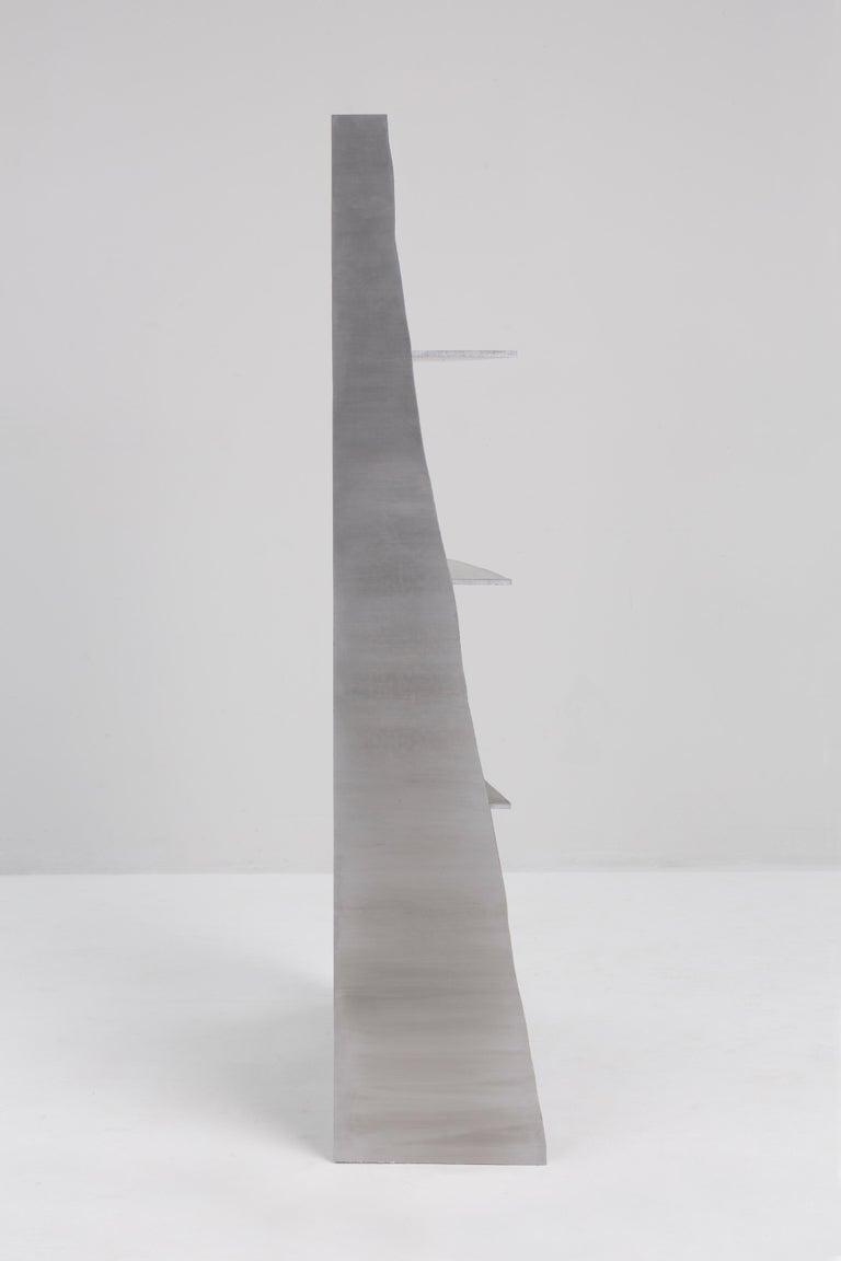 Aluminum Rational Jigsaw Shelf by Studio Julien Manaira For Sale 1