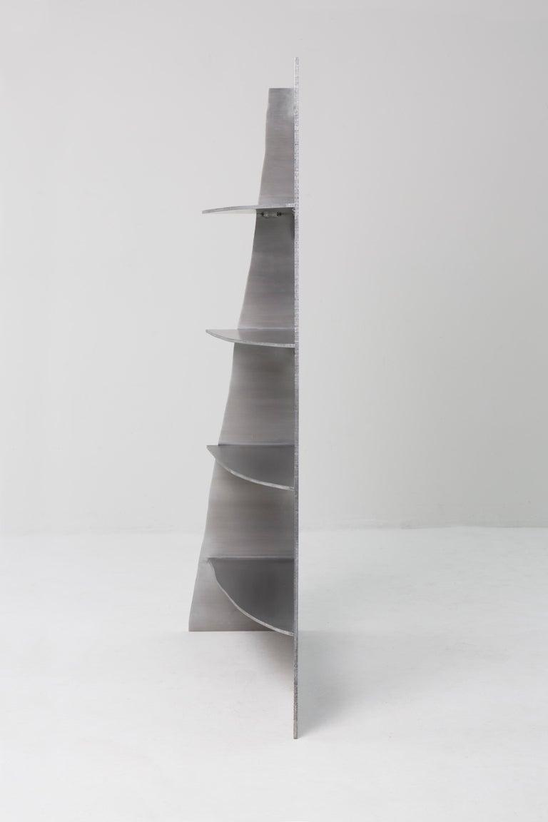 Aluminum Rational Jigsaw Shelf by Studio Julien Manaira For Sale 2