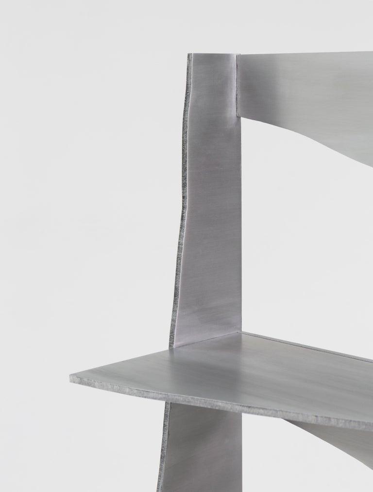 Aluminum Rational Jigsaw Shelf by Studio Julien Manaira For Sale 3