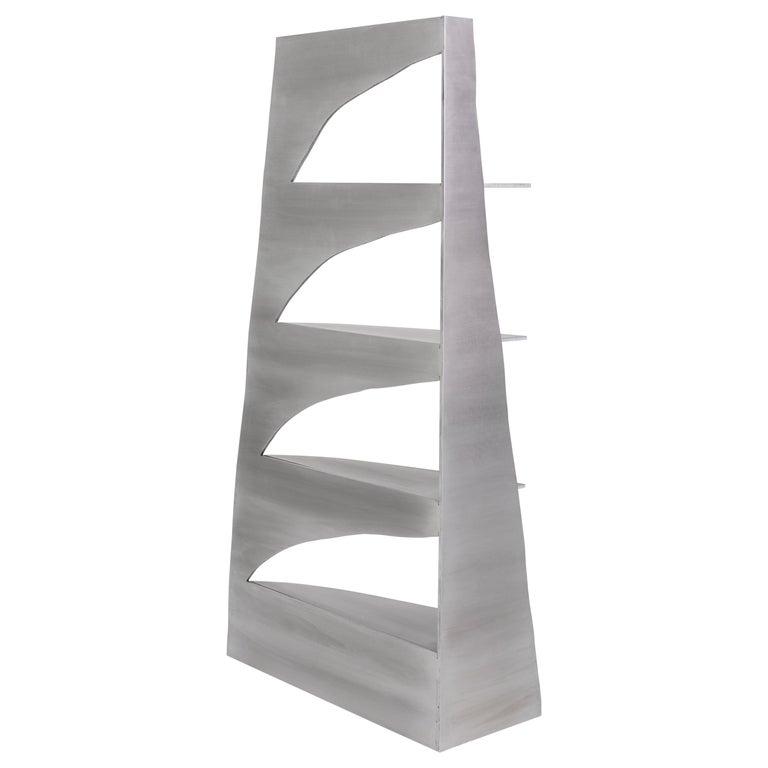 Aluminum Rational Jigsaw Shelf by Studio Julien Manaira For Sale