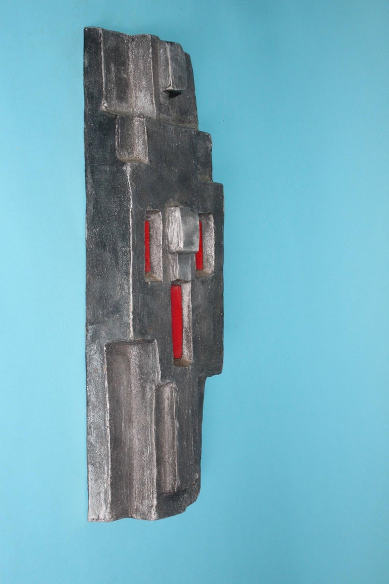 Aluminium Signed Sculpture, Dated 1968 In Good Condition For Sale In Meyrin, CH