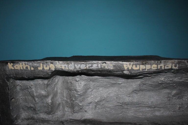 Aluminium Signed Sculpture, Dated 1968 For Sale 2