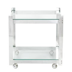 Aluminum Bar Cart