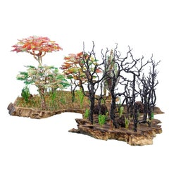 """Feng Shui Bonsai """"Hell in heaven"""", Handmade in Italy, Sculpture, Contemporary"""