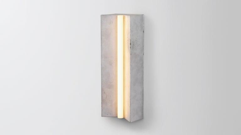 Unglazed Aluminum Longton by Volker Haug For Sale