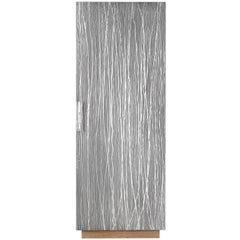 Aluminium One-Door Tall Cabinet