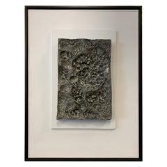 """Aluminum Relief """"Genesis"""" David Levine"""