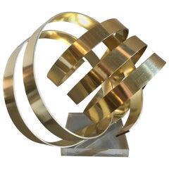 Aluminum Ribbon Sculpture by Dan Murphy