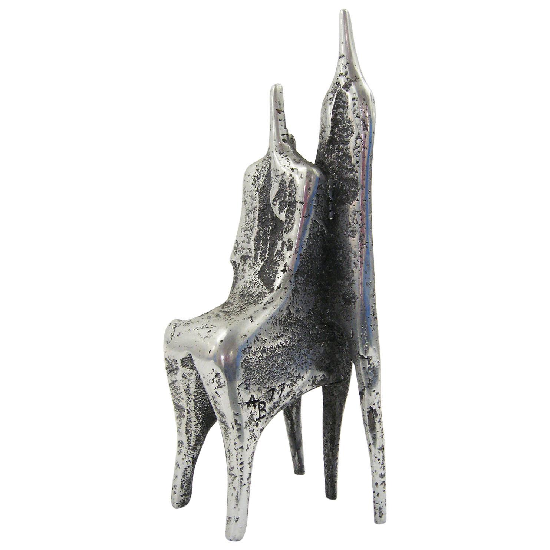Aluminum Sculpture by Aharon Bezalel