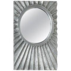 Aluminum Starburst Mirror