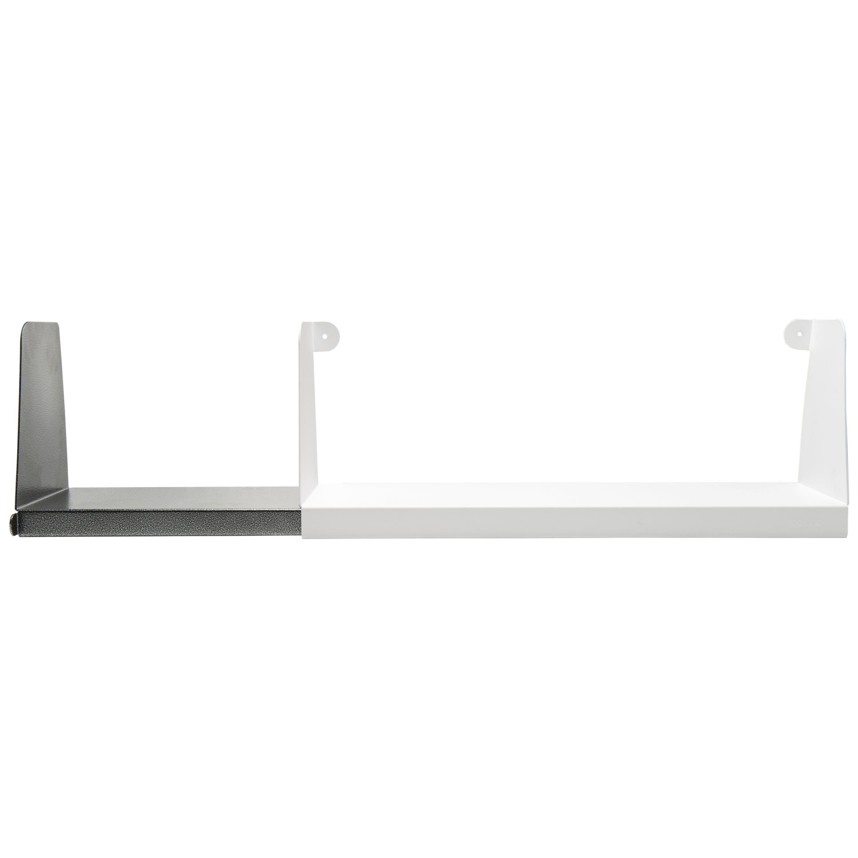 Aluminum Extra Large Sliding Double Shelf in by Sebastian Bergne and Tolix