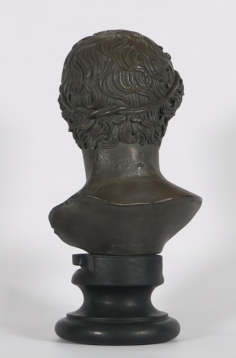 Alva Studios Greco-Roman Bust Reproduction In Good Condition For Sale In New York, NY