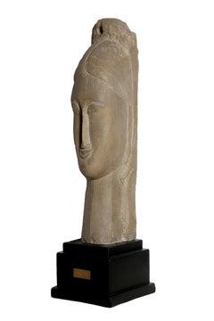 Tete de Femme, After Modigliani