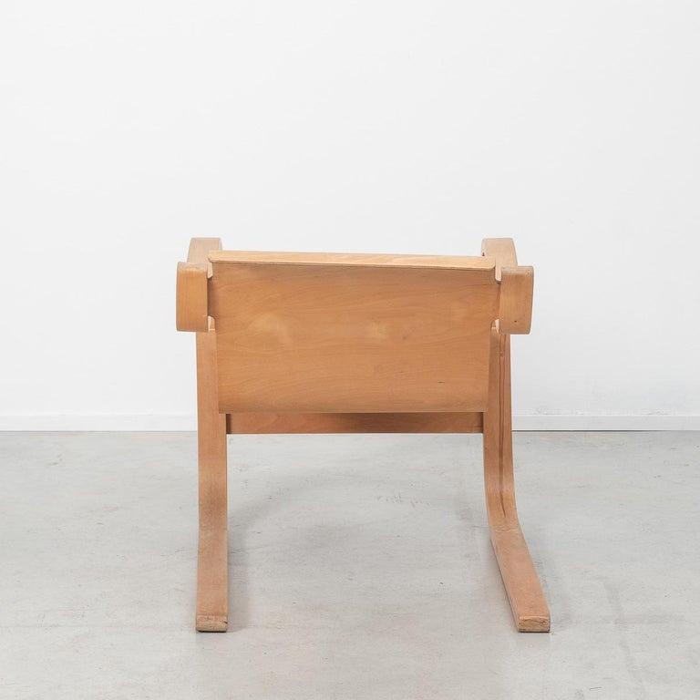 Birch Alvar Aalto 31 Lounge Chair for the Paimio Sanitorium, Finland, 1931 For Sale