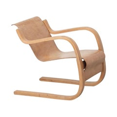 Alvar Aalto 31 Lounge Chair for the Paimio Sanitorium, Finland, 1931