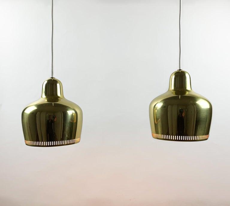 Scandinavian Modern Alvar Aalto, a Vintage Pair