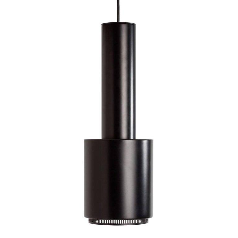 Finnish Alvar Aalto A110 'Hand Grenade' White Pendant Light for Artek For Sale