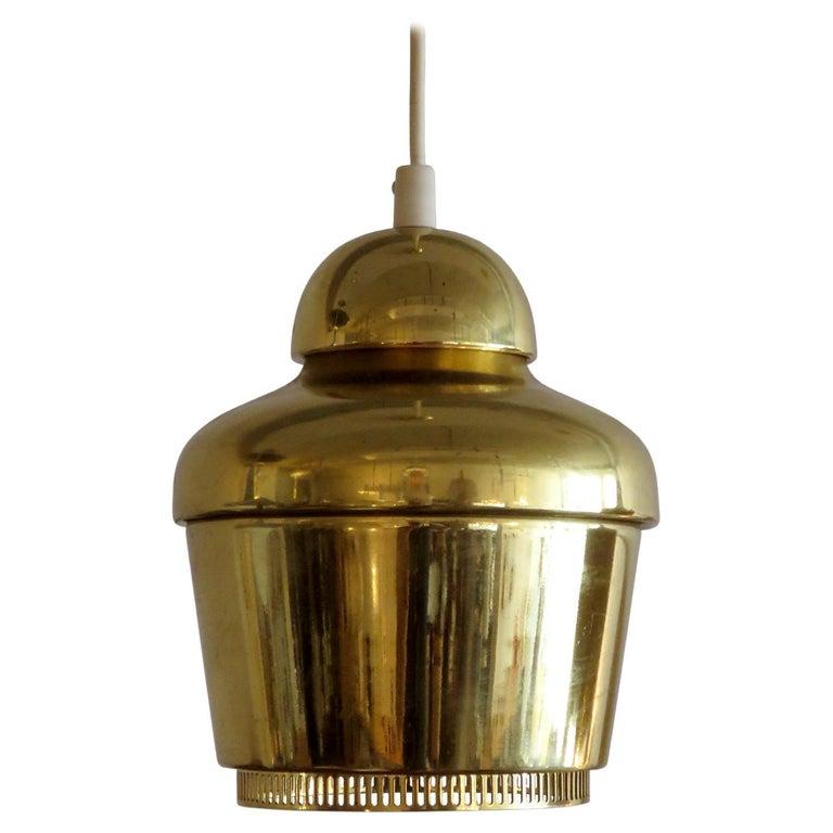 Alvar Aalto A330 Golden Bell, Pendant Light, 1960