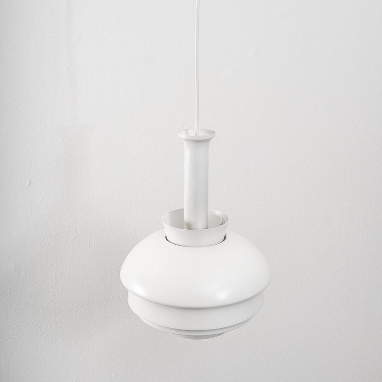 Mid-Century Modern  Alvar Aalto A335B Pendant Lamp Artek, Finland, Late 1960s For Sale
