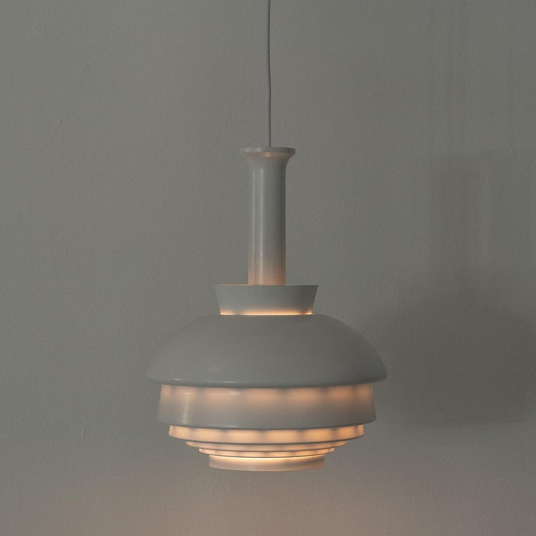 Alvar Aalto A335B Pendant Lamp Artek, Finland, Late 1960s In Excellent Condition For Sale In London, GB