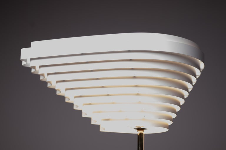 20th Century Alvar Aalto A805 Angel Wing Floor Lamp For Sale
