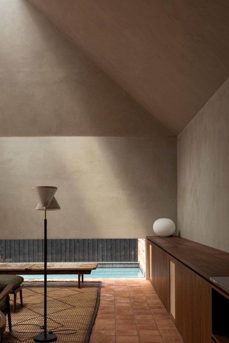 Alvar Aalto A810 Floor Lamp, Valaisinpaja Oy, Finland For Sale 3