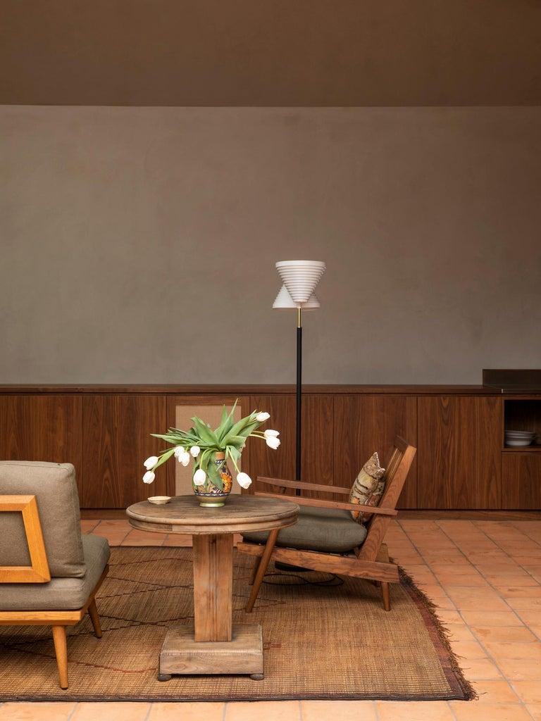 Alvar Aalto A810 Floor Lamp, Valaisinpaja Oy, Finland For Sale 2