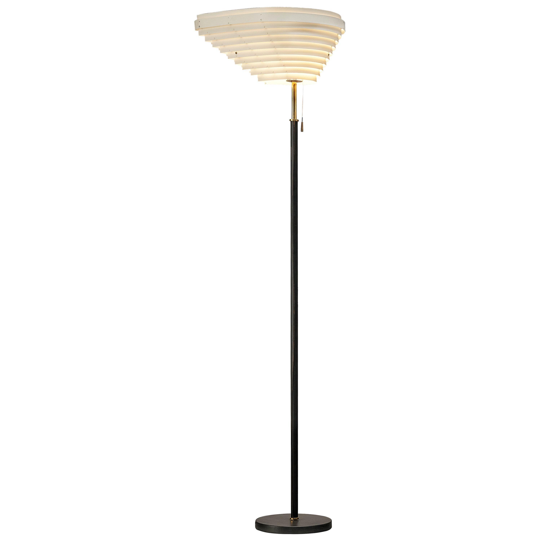 "Alvar Aalto Angel's Wing ""A805"" Floor Lamp for Valaisinpaja Oy"