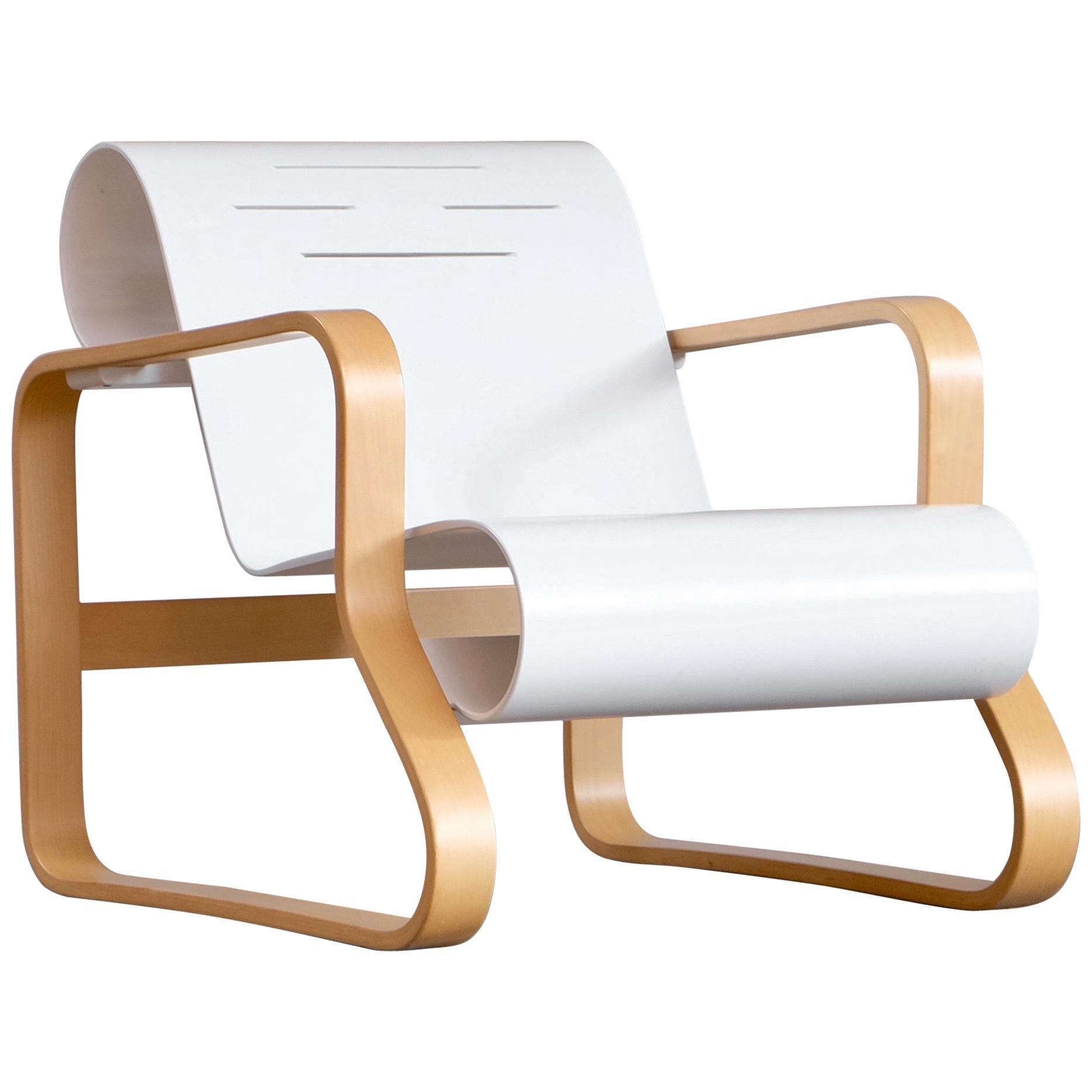 "Alvar Aalto Armchair 41 ""Paimio"" by Artek, 1970s"