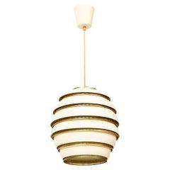 Alvar Aalto Beehive Lamp Model No. A332 Produced by Valaistustyö in Finland