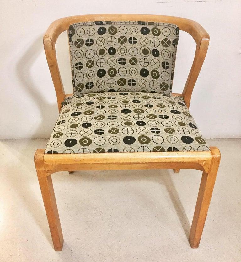 Scandinavian Modern Alvar Aalto Chair 2, Mode 15.1930 For Sale