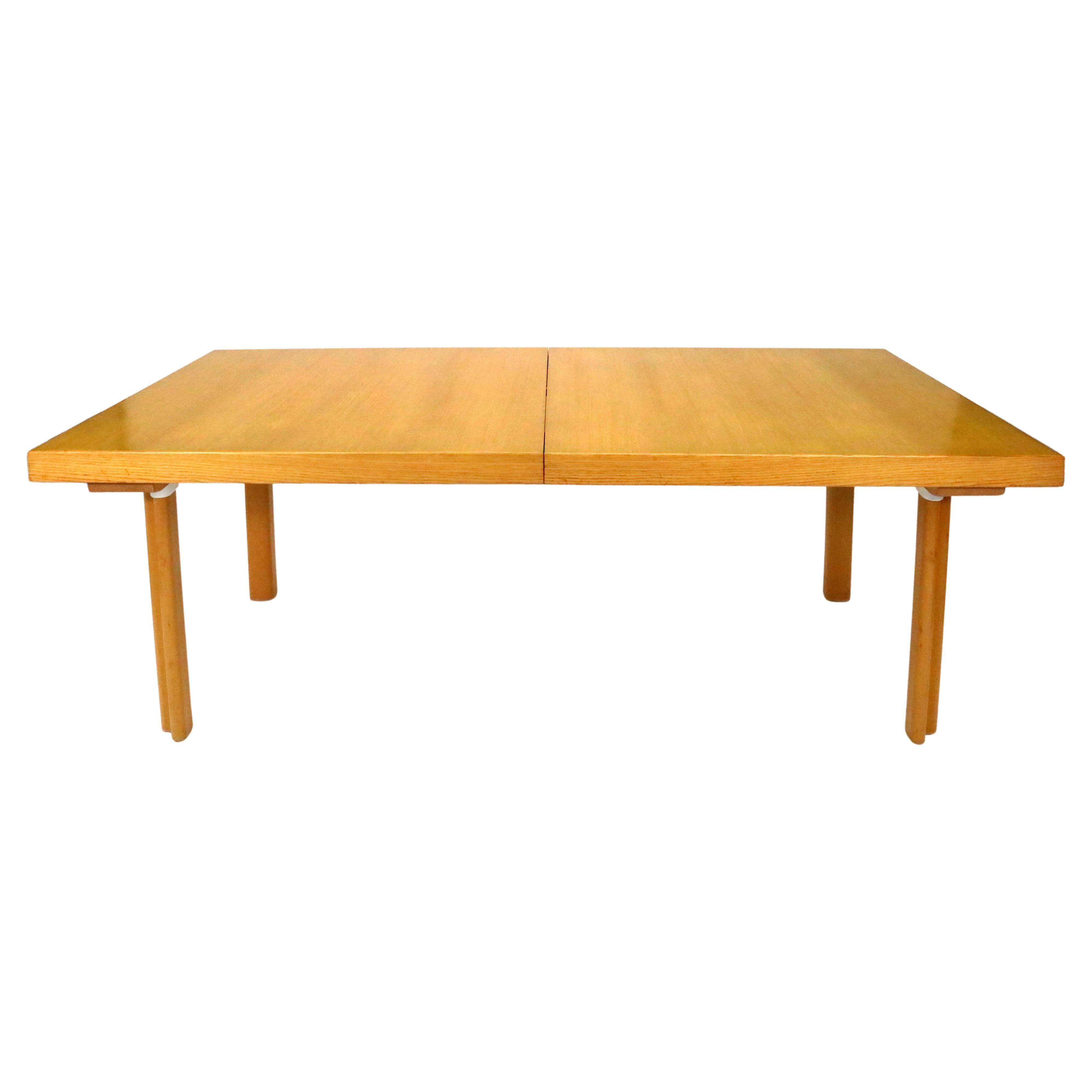 Alvar Aalto Dining Table in Birch with Two Leaves, Model H94 for Artek