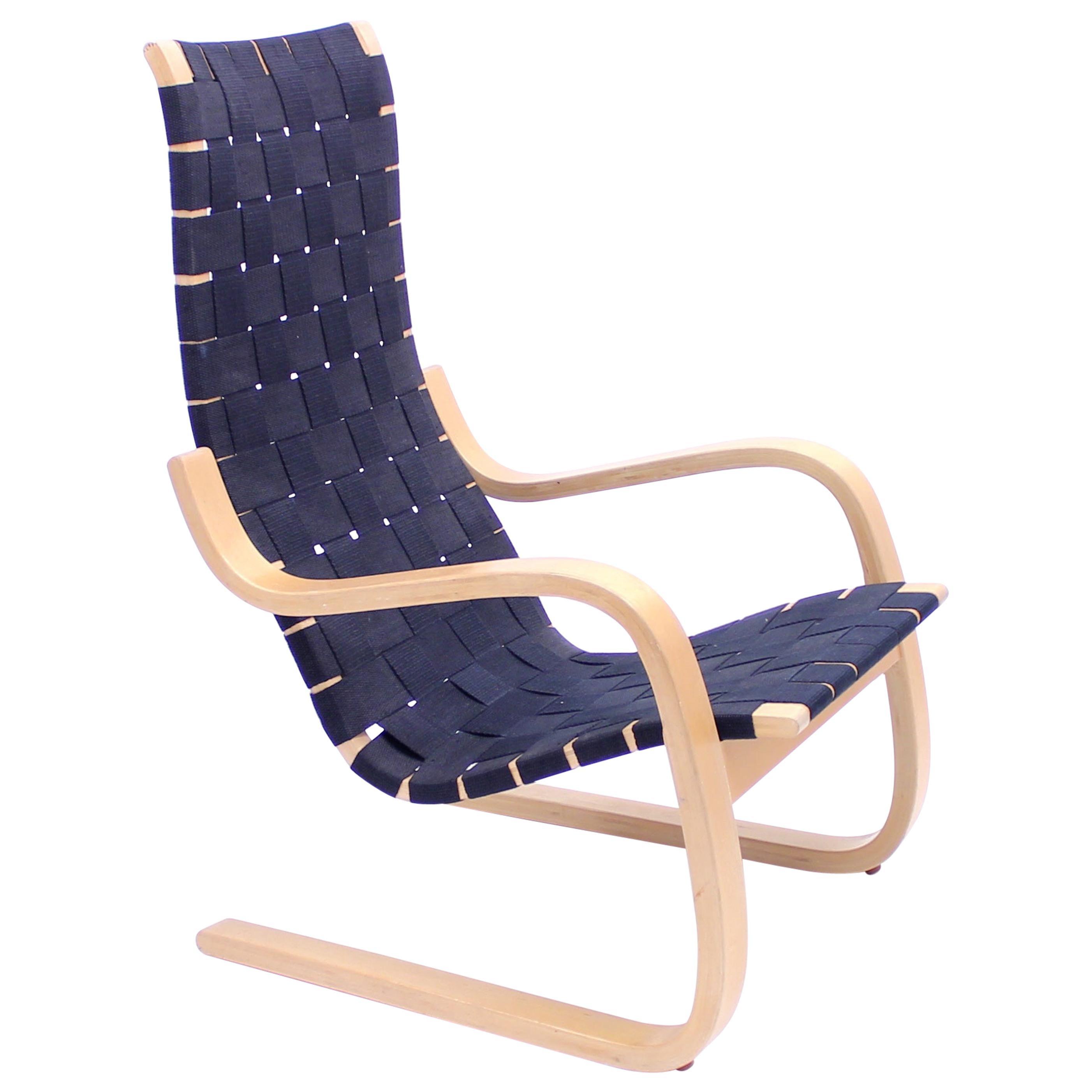 Alvar Aalto, Early Lounge Chair Model 406, Artek, Hedemora