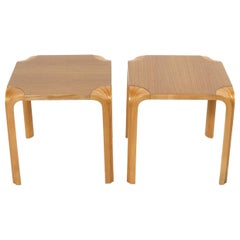 Alvar Aalto End Tables or Nightstands