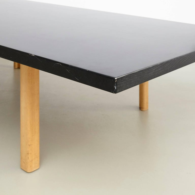 Mid-Century Modern Alvar Aalto Extra Large Dining Table, circa 1960 For Sale