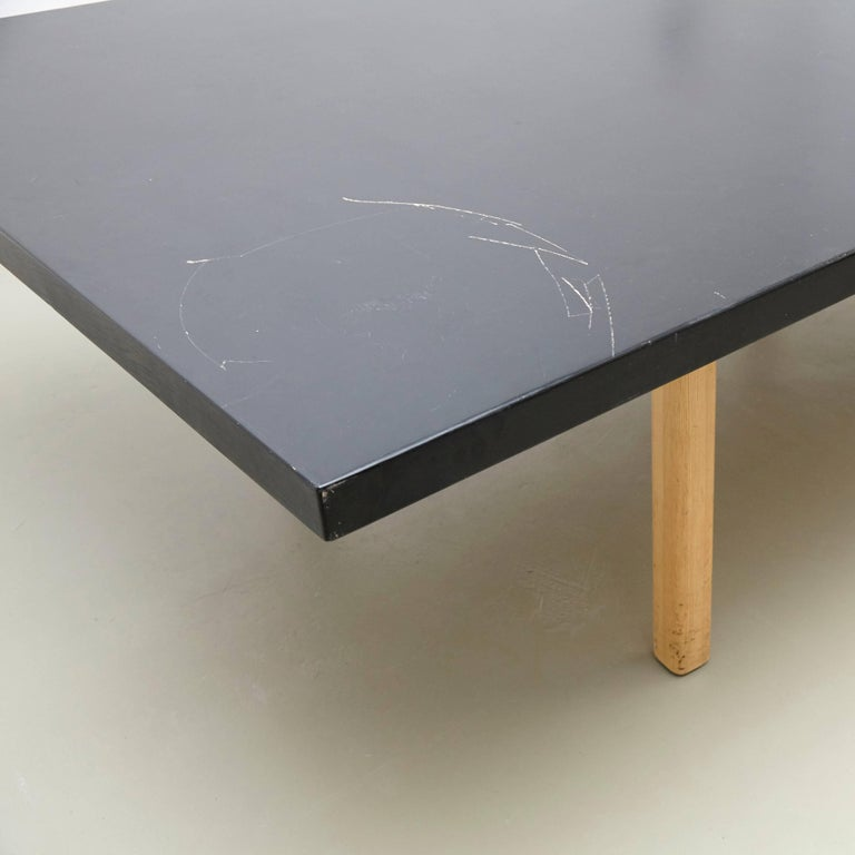 Alvar Aalto Extra Large Dining Table, circa 1960 In Good Condition For Sale In Barcelona, Barcelona