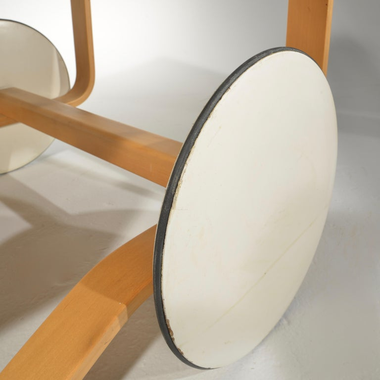 Alvar Aalto for Artek Tea Cart Model 900 For Sale 4