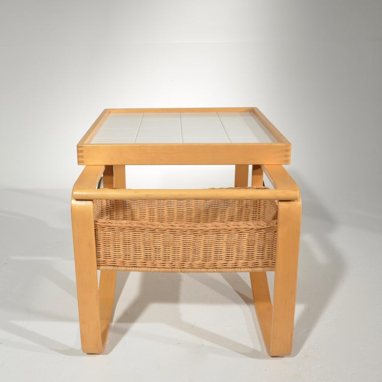 Ceramic Alvar Aalto for Artek Tea Cart Model 900 For Sale