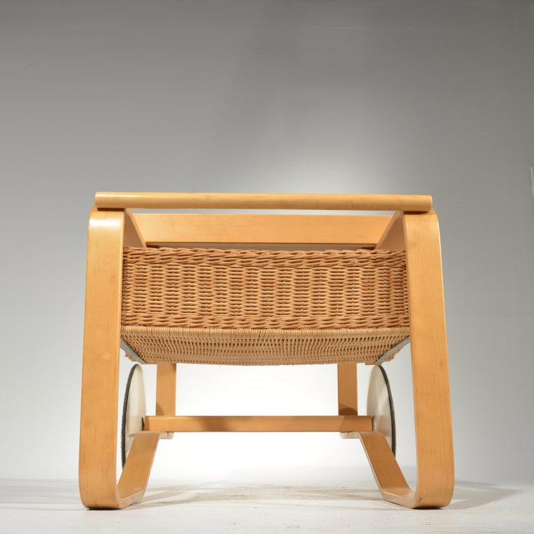 Alvar Aalto for Artek Tea Cart Model 900 For Sale 1