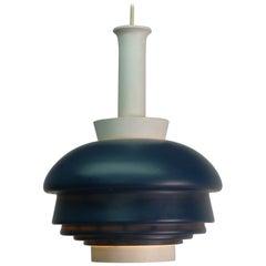 Alvar Aalto for Valaistustyo, 1952, Pendant Lamp, Stamped by Maker
