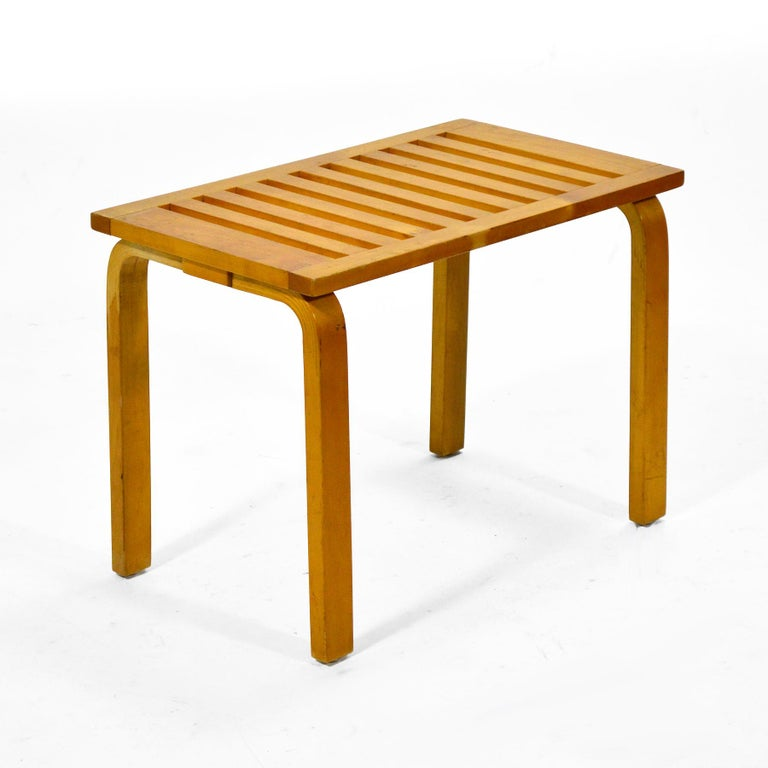 Mid-20th Century Alvar Aalto L-Leg Bench/ Table Model 106 For Sale