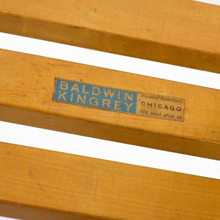 Alvar Aalto L-Leg Bench/ Table Model 106 For Sale 1